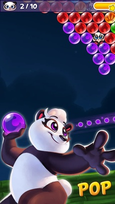 Bubble Shooter - Panda Pop!