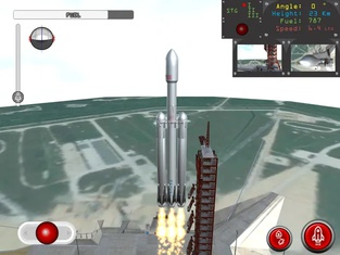 Space Rocket Launch & Landing