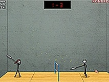 Stick Figure Badminton II